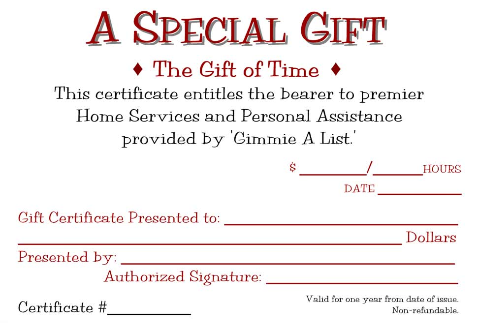 Cleaning Specials in Seattle / 2066120590 / Gimmie A List Gift