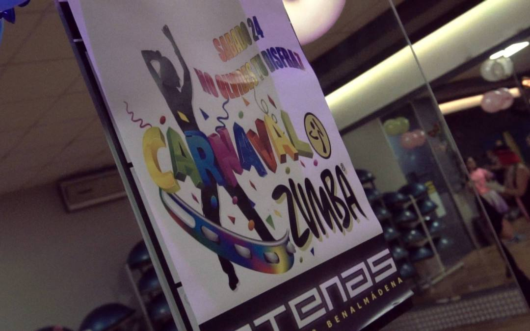 Maratón Zumba Carnaval 2018