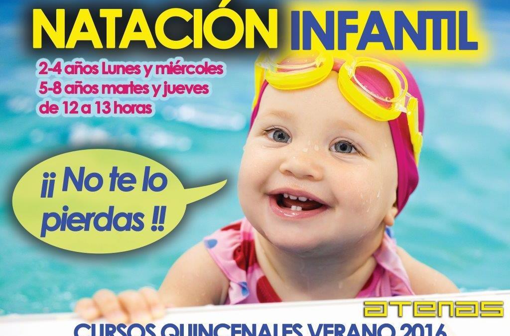 Natación Infantil en Gimnasio Atenas Marbella