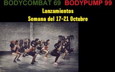 Nuevas coreografías Body Pump 99 y Body Combat 69 en Gimnasio Atenas Benalmádena