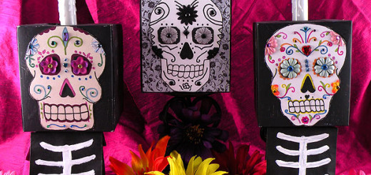 day of the dead template Archives - Gina Tepper