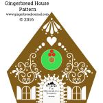 Heidi's Gingerbread House Pattern