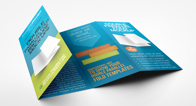 Brochure Printing Service in China - double fold brochure