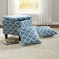 Ottoman with Pillows | Ginny's