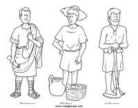 romani disegni da colorare