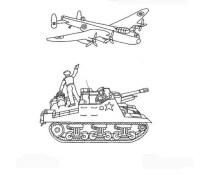 seconda_guerra_mondiale_120 disegni da colorare