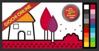 Giochi di colorare online: colorare la casa!