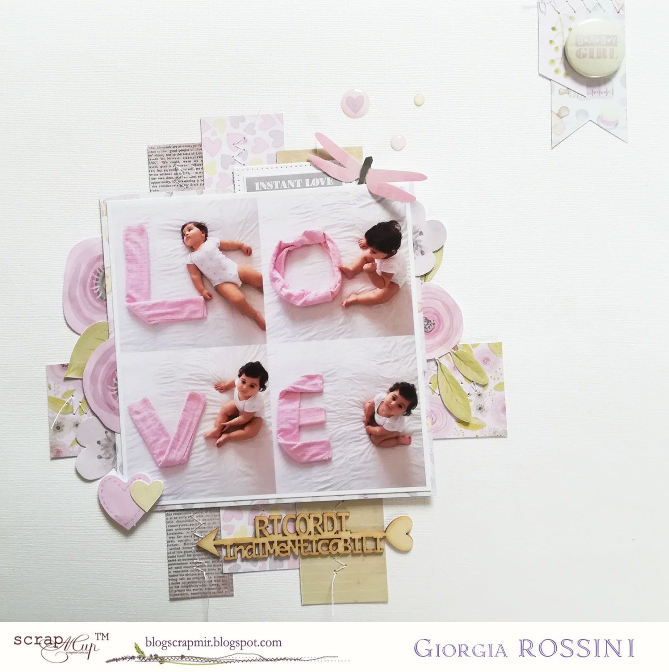 Giorgia Rossini for ScrapMir