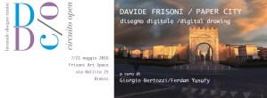 Giorgio Bertozzi Neoartgallery Davide Frisoni Paper City 10