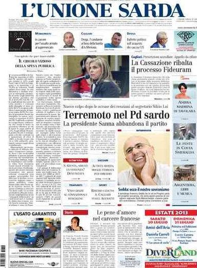 L'Unione Sarda: si profilano15 prepensionamenti - Giornalistitalia