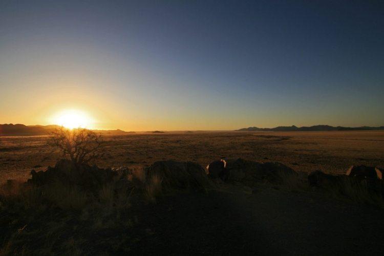 Sonnenuntergang Namib-Naukluft