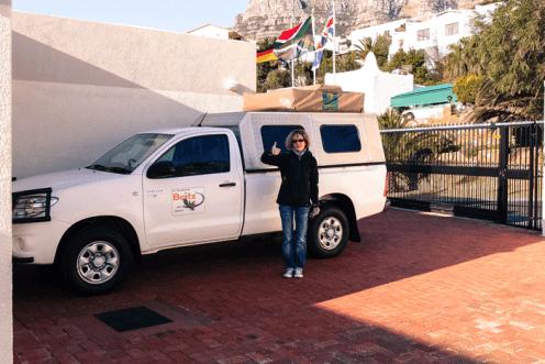 Unser Toyota Hilux - wir nennen ihn Bessie