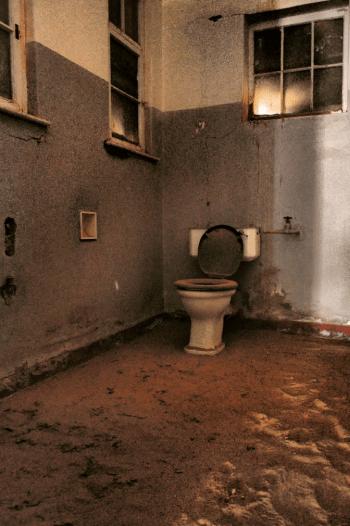 Toilette in Kolmanskop