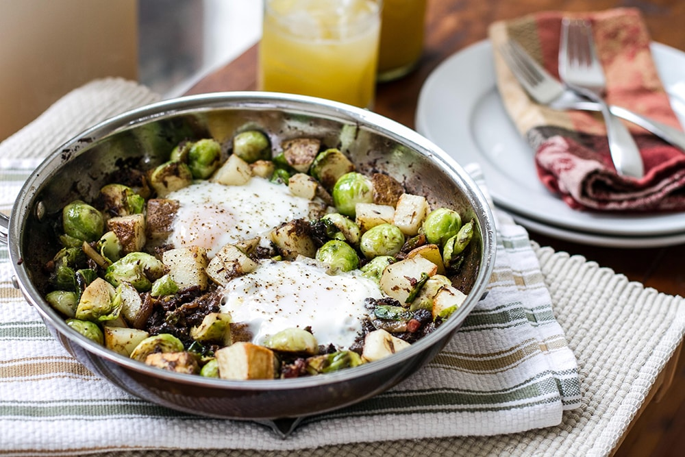 Braised Beef Breakfast Hash | Girl Gone Gourmet