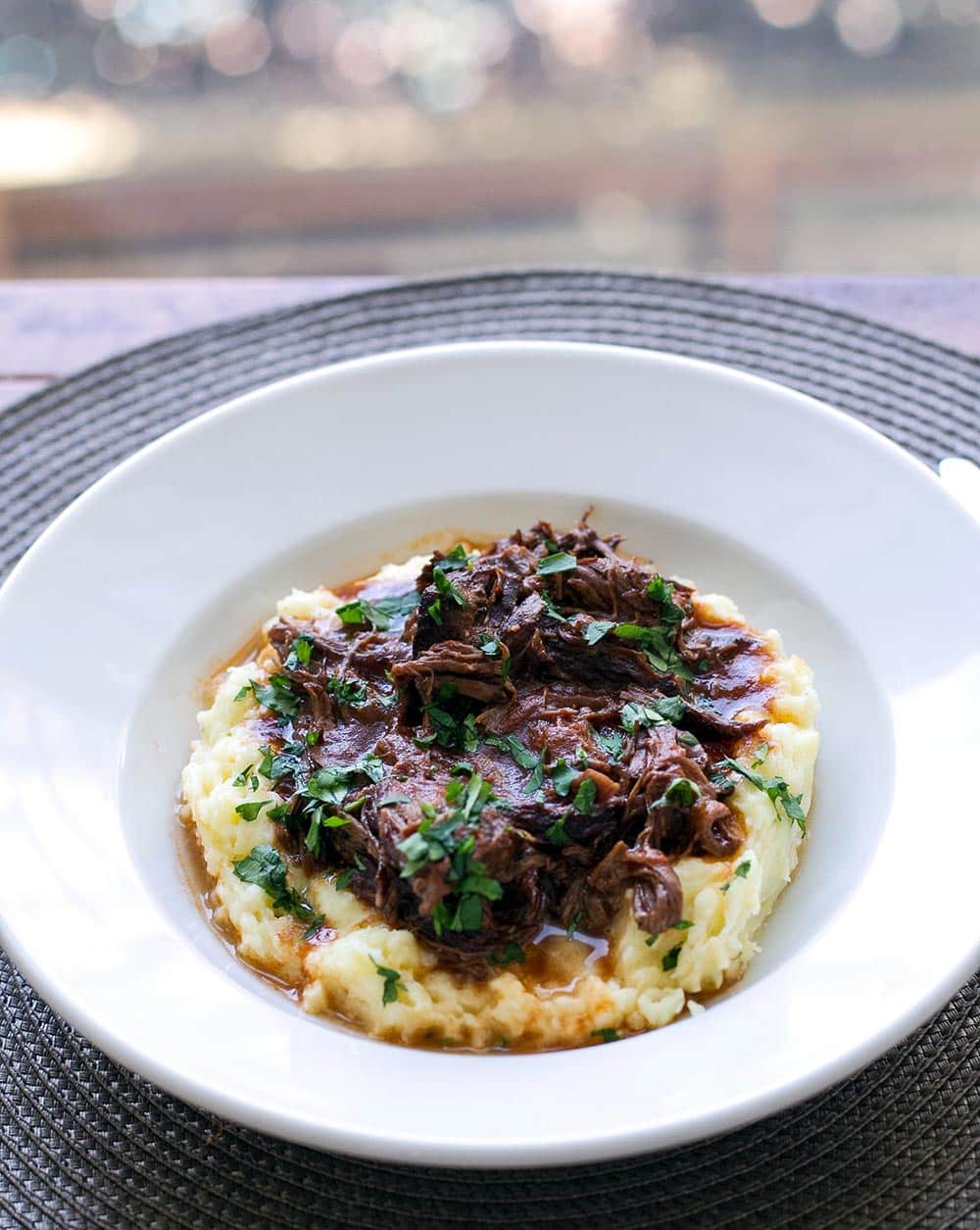 Rich and hearty slow cooked short rib ragu | girlgonegourmet.com