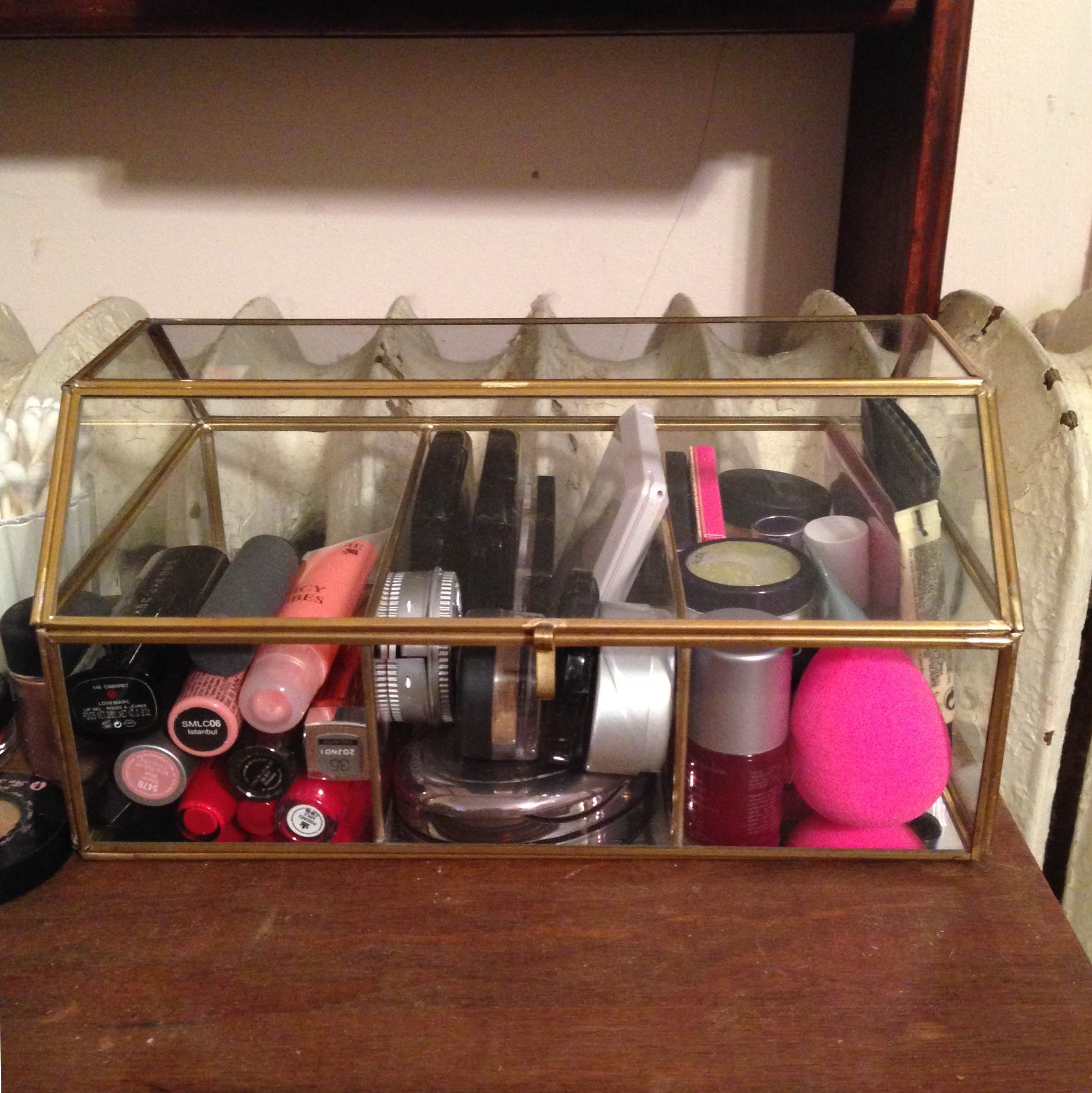 my new makeup storage