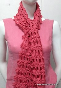 CROCHET PATTERNS SCARVES EASY   Crochet Patterns Only