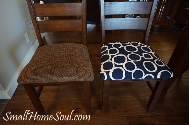 Reupholster Your Dining Chairs And Save 200 Girl Just Diy