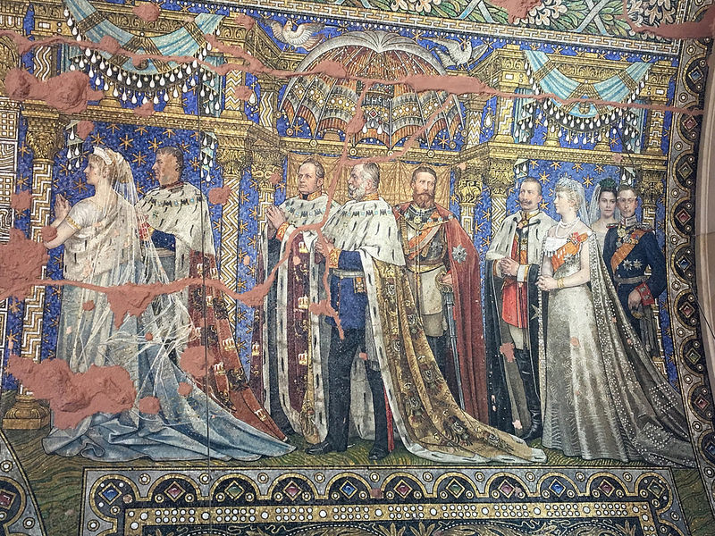 kaiser-wilhelm gedachtnis-kirche mosaic