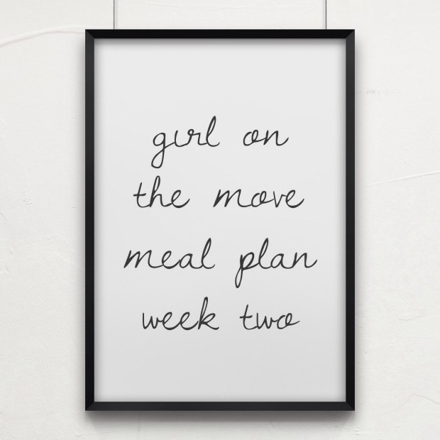Girl on the Move Week Two | Girl on the Move Blog