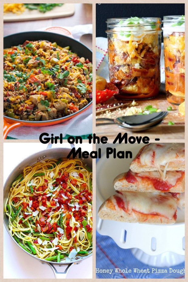 Week Two Meal Plan | Girl on the Move Blog