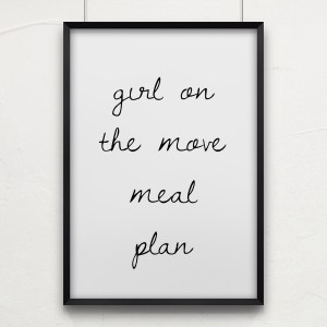 Meal Plan | Girl on the Move