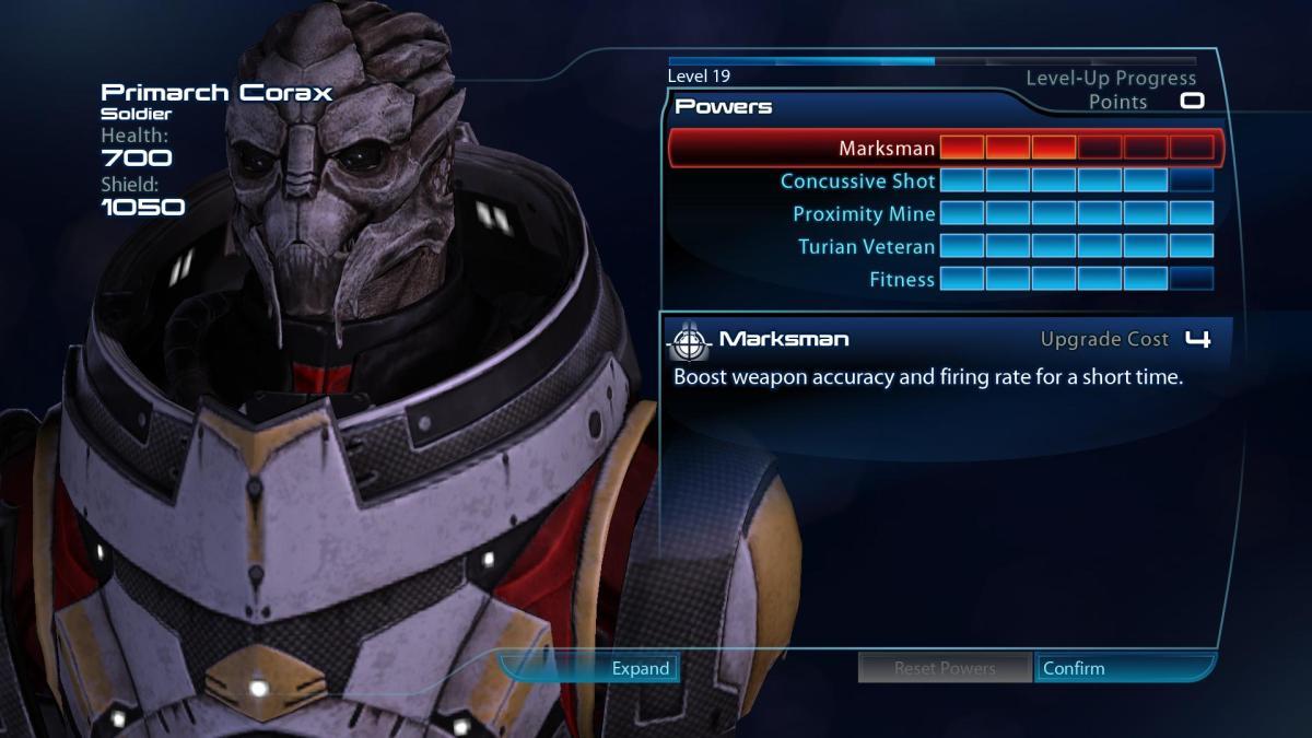 Mass Effect  Builds Soldier