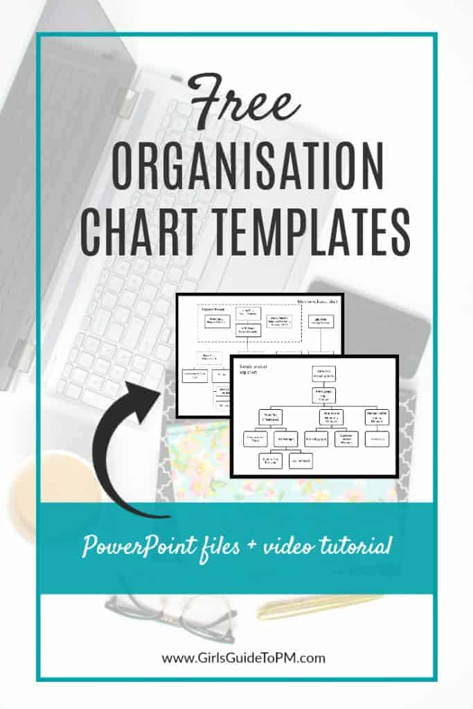 Free Organisational Chart Template \u2022 Girl\u0027s Guide to Project Management