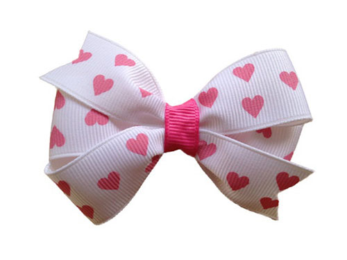 Amazing Valentines Day Hair Bows Clips For Girls 2014