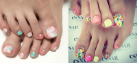 Spring Toe Nail Art | www.imgkid.com - The Image Kid Has It!