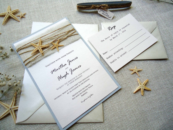 Beach Wedding Invitation Ideas For Summer 2016 Girlshue