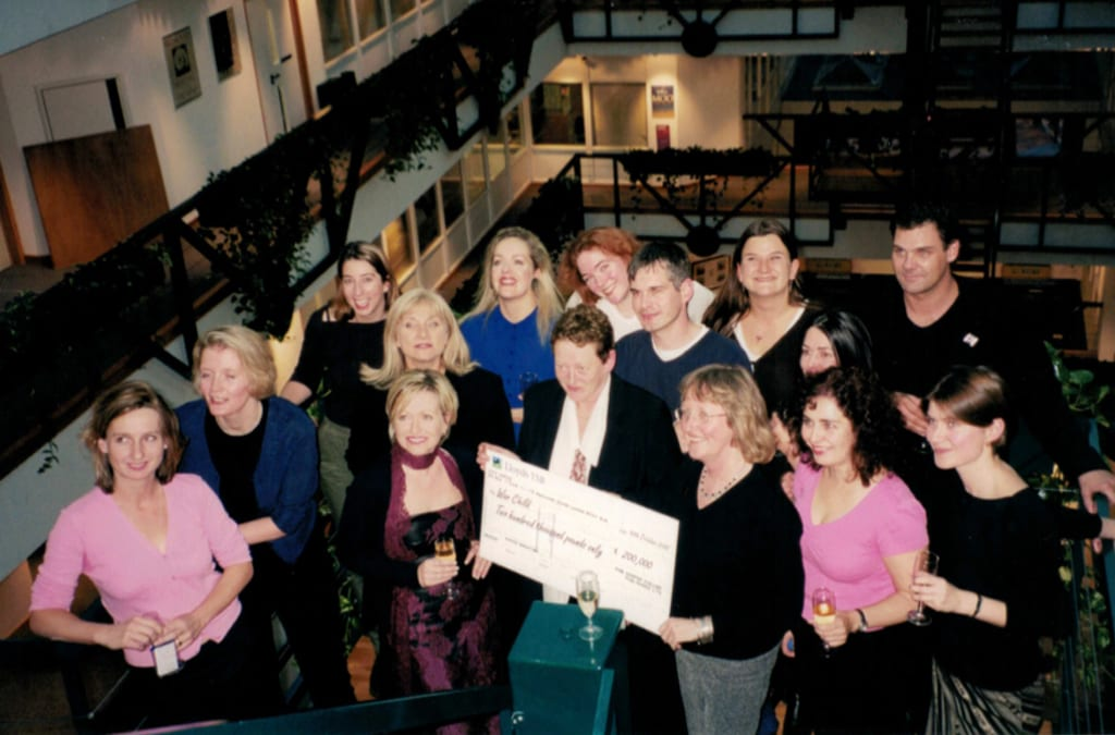 First Royalty Cheque, Autumn 2000