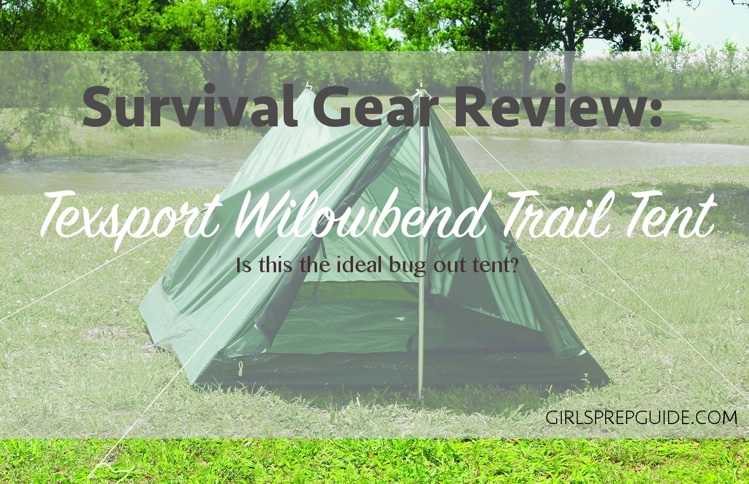 Survival Gear Review Texsport Willowbend Trail Tent & 7 Reasons to Switch from Tent to Hammock Camping - A Girlu0027s Prep Guide