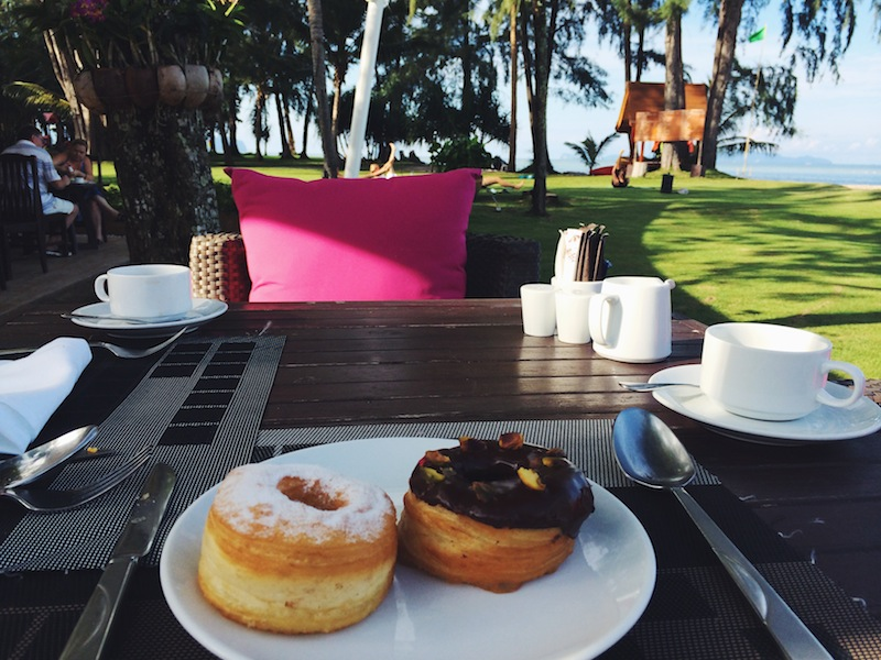 Cronuts for breakfast - don't judge me!