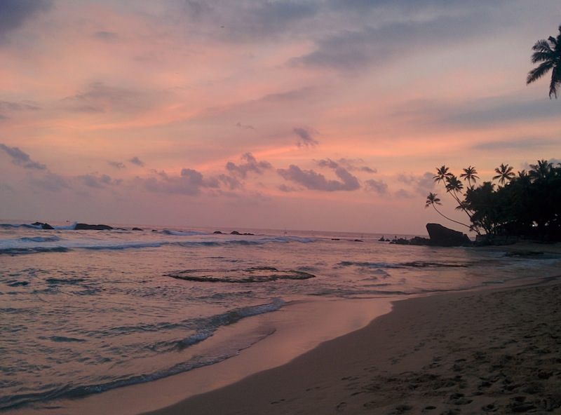 Head to Wijaya Beach for sunset cocktails and pizza