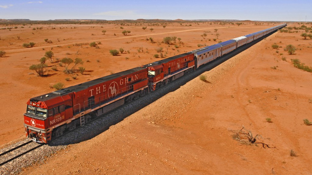 Journey through the centre of Australia on The Ghan