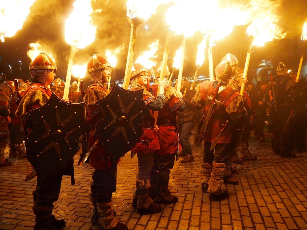 Edinburgh's Hogmanay 2015/16 Torchlight Procession
