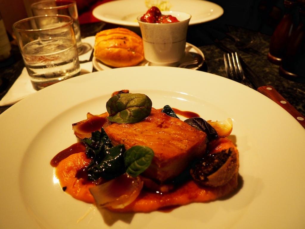 Pork Belly at The Bon Vivant