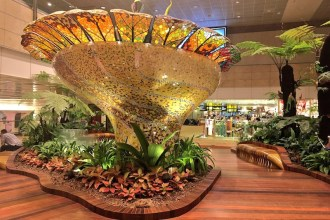 Enchanted Garden at Terminal 2