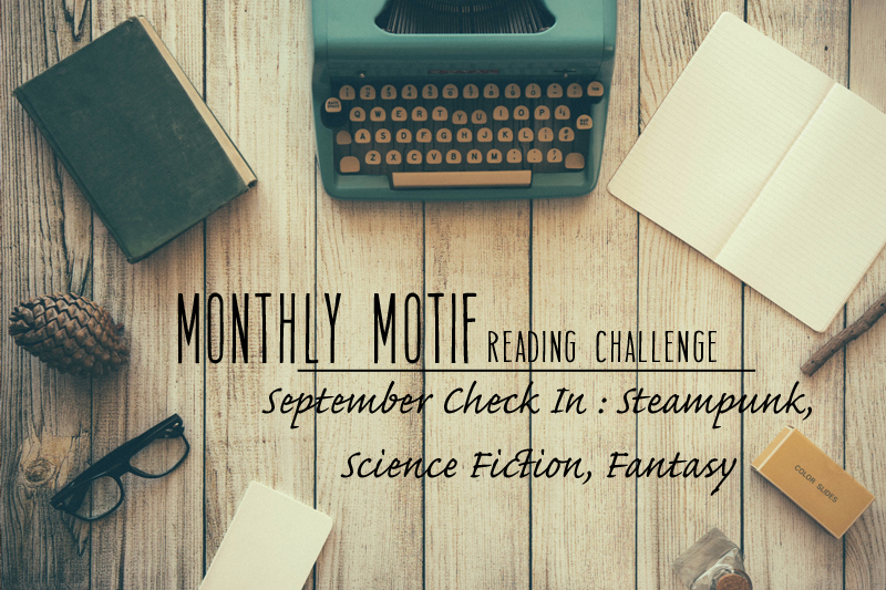 September Monthly Motif Check In | Genre Jumble