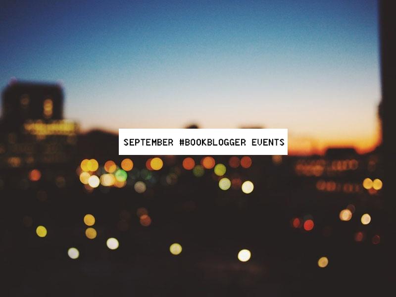 September #BookBlogger Events