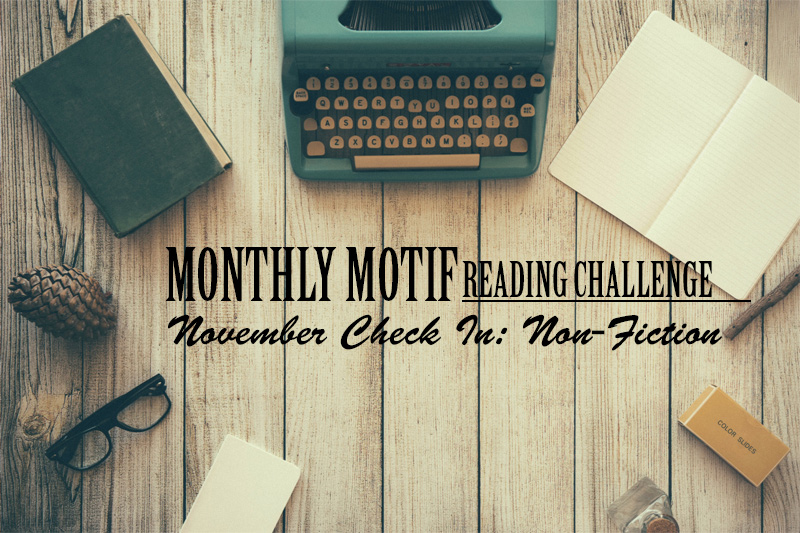 November Monthly Motif Check In | Genre Jumble