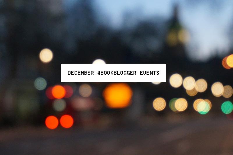 December #BookBlogger Events