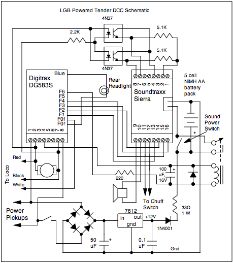 dcc track wiring diagrams