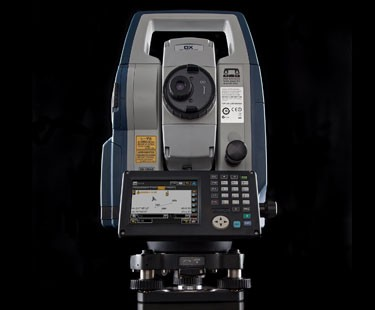 Sokkia's DX-105AC+, a robotic total station. (Photo from Sokkia)