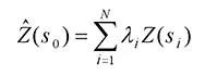 kriging formula
