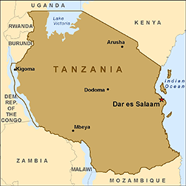 map-tanzania-Remote Sensing Technology for Crop Monitoring
