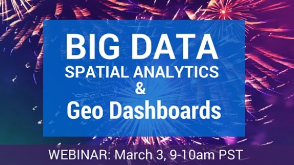 webinar on Big Data Spatial Analytics