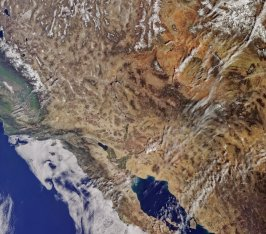 California from Sentinel-3A