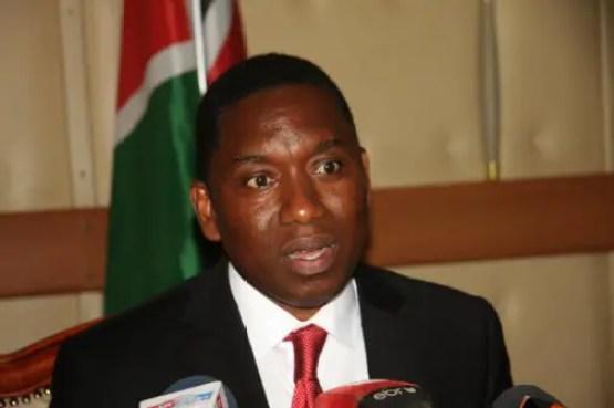 Mining Cabinet Secretary Dan Kazungu. (Photo: File/Standard)